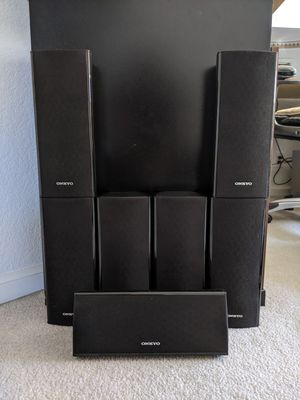 Onkyo Speakers (7) for Sale in Fremont, CA