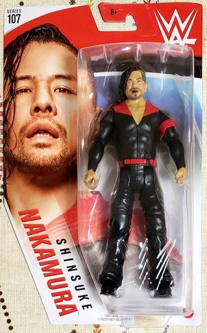 WWE Shinsuke Nakamura Series 107 Wrestling Action Figure Mattel - NEW - In Hand for Sale in Harrisonburg, VA