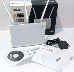 EUC ASUS AC1900 RT-AC68W Dual Band WiFi Gigabit Router for Sale in Mill Creek, WA