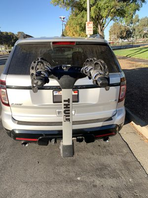 Thule apex 4 bike rack hitch style bicycle carrier for Sale in Fremont, CA