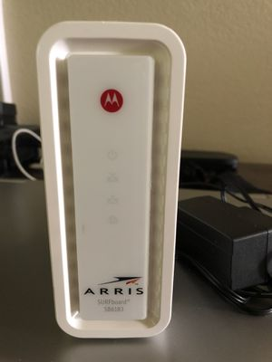 ARRIS - SURFboard SB6183 16 x 4 DOCSIS 3.0 Cable Modem for Sale in Lynnwood, WA