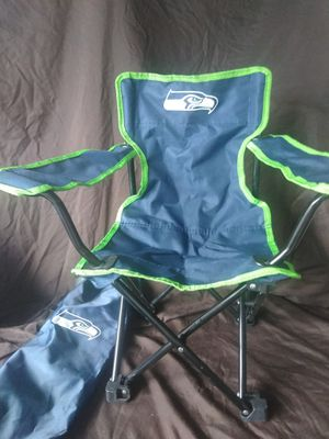 Kids folding chair Seattle Seahawks brand new for Sale in West Valley City, UT