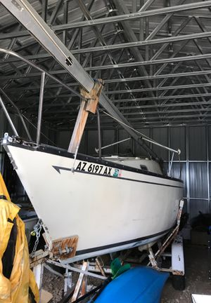 San Juan 23 sailboat, new sails, 7.5 hp Honda outboard for Sale in Dolores, CO