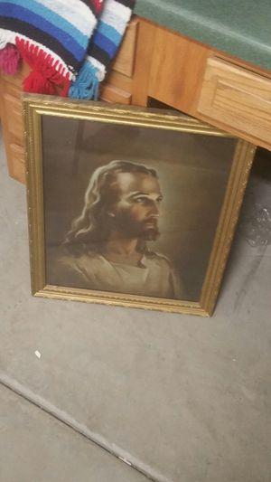 Religious Jesus photo in frame for Sale in Scottsdale, AZ