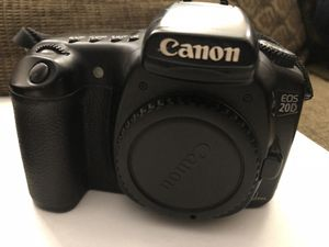 Canon EOS 20D Digital Camera for Sale in Fontana, CA