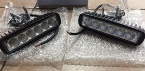 "2- NEW 18W Flood CREE LED Work Light Bar For Trucks Car Offroad 1.5"" Long X 6"" Wide for Sale in Fresno, CA"