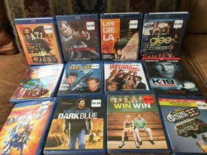 Stocking stuffers? 13 brand new Blu Rey- dvd movies all for $25 for Sale in Fresno, CA