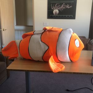 Giant Clown Fish Stuffed Animal for Sale in Sacramento, CA