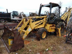 2001 katsmu backhoe needs work with hydraulics for Sale in Houston, TX