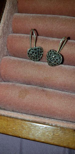 black marquisite earrings for Sale in Auburndale, FL