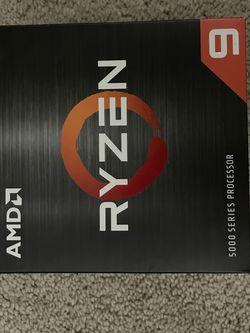 AMD RYZEN 9 5900x Processor for Sale in Riverside,  CA