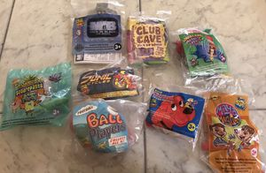 Collection of 8 Wendy's Kid Meal toys for Sale in Miami, FL