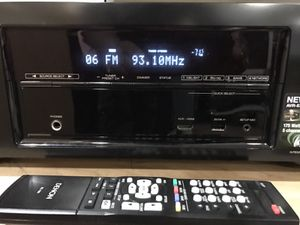 +++ Denon AVR-E300 Digital 3D Smart Receiver w/ Apple Airplay, wi-fi/ethernet, Android / Apple apps, 175wattsx 5 for Sale in New York, NY