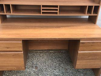 Wooden Work Desk for Sale in Renton,  WA
