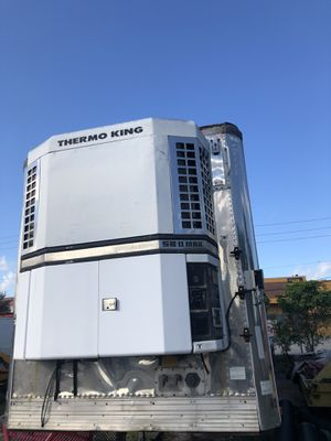 48' ft Utility trailer Reefer thermoking for Sale in Hialeah, FL