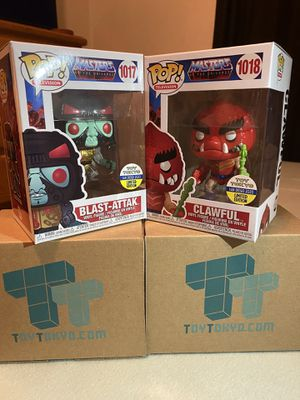 SDCC 2020 Masters Of The Universe Funko Set for Sale in Alhambra, CA