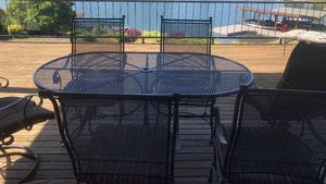 Patio set furniture 7 piece $275.00 for Sale in Sumner, WA