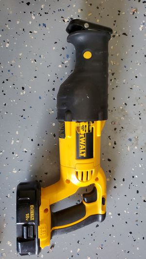 Dewalt 18 Volt Cordless Reciprocating Saw' Tool Only for Sale in Chesnee, SC
