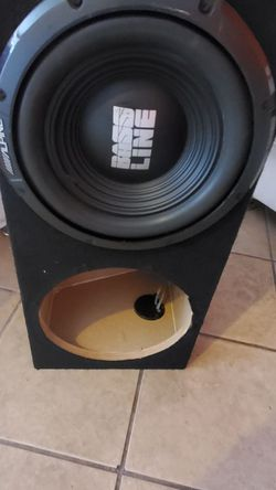 Subwoofer Box 12 In Sub for Sale in Los Angeles,  CA