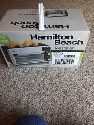Hamilton Beach toaster and oven for Sale in Eden, NY