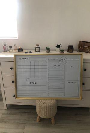 Hanging Whiteboard Calendar for Sale in Miami, FL
