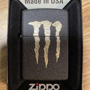 Zippo Monster Energy Logo for Sale in Cut Off, LA