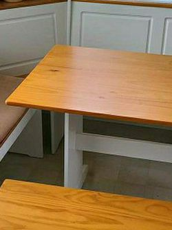 Breakfast Nook Corner Bench Set For Cozy Spaces for Sale in Seattle,  WA