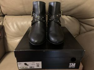 Black Boots size 7 for Sale in Pasadena, TX