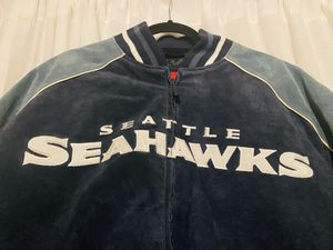 New-Vintage Seattle Seahawks Leather Sue Jacket for Sale in Mukilteo, WA