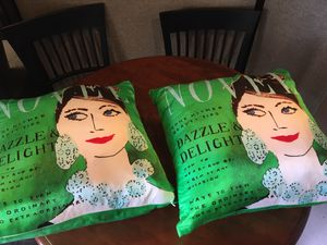 Two brand new Kate Spade pillows for Sale in Hinsdale, IL