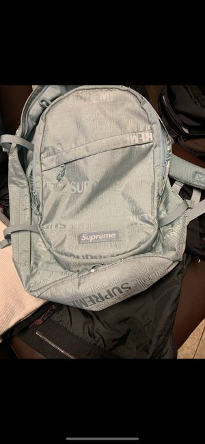 Supreme backpack (ss19) ice for Sale in Washington, DC