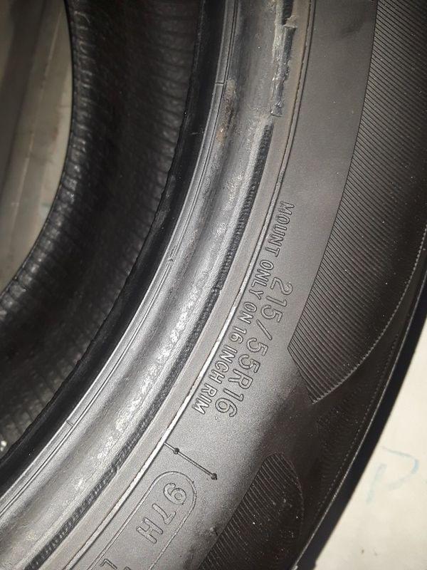 215/55-16 #4 tires