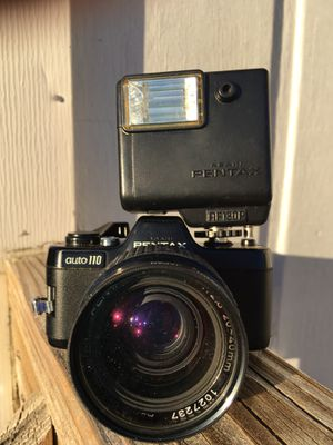 Pentax Auto 110 with Flash. for Sale in Siler City, NC