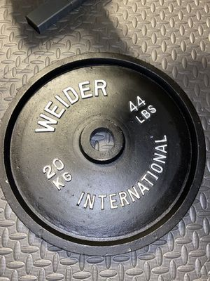 (2x) 44 lb Weider International weights for Sale in Smithtown, NY