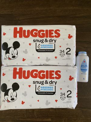 Huggies Diapers Size 2 Bundle $10.00 for Sale in Bountiful, UT
