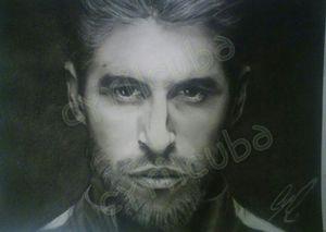 Sergio Ramos portrait (Charcoal) for Sale in Miami, FL