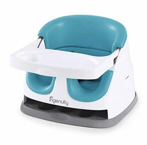 Ingenuity Baby Base 2-in-1 Seat - Peacock Blue - Booster Feeding Seat for Sale in New Britain, CT