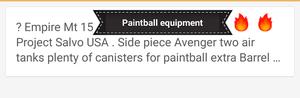 Paintball equipment well over $1,200 asking $600 or best offer for Sale in Philadelphia, PA