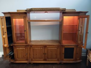 Entertainment center for Sale in Marvin, NC