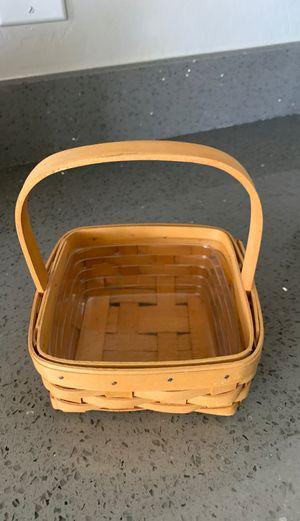 longaberger basket for Sale in Gilbert, AZ