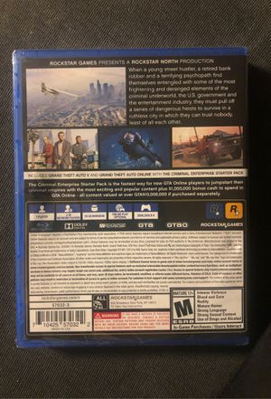 Brand New Sealed Grand Theft Auto 5 Premium Edition for Sale in Hyattsville, MD