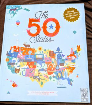 The 50 States: Explore the U.S.A.(Book for kids) for Sale in Los Angeles, CA
