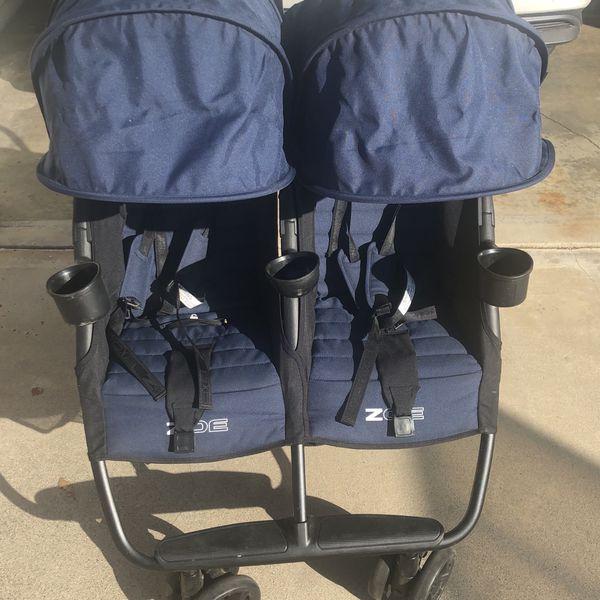 Zoe Double Stroller