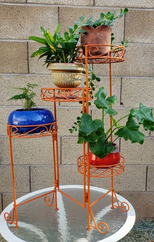 Vintage Folding 4 Teir Plant Stand for Sale in Mesa, AZ