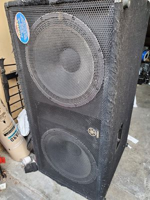 Yamaha Dual 18 inch Pro Audio Subwoofer for Sale in Oceanside, CA