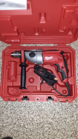 """Milwaukee 1/2"""" corded hammer drill for Sale in Seattle, WA"""