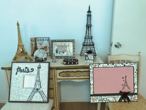 10 piece Paris themed Room Decorations for Sale in Kaneohe, HI