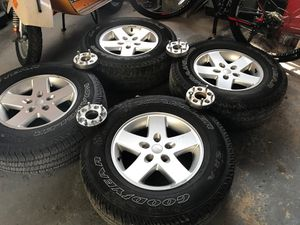 Jeep wheel and tires for Sale in Kensington, MD