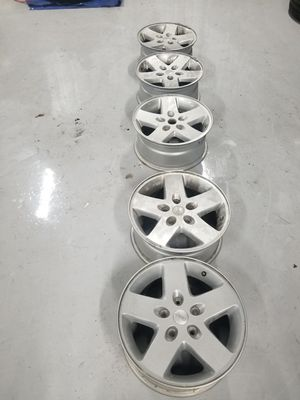 """17"""" Jeep Wrangler wheels with sensors. for Sale in Heathrow, FL"""