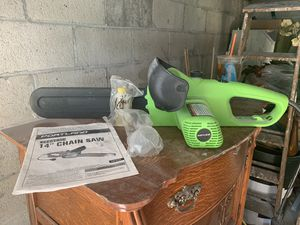 Portland 14 inch chainsaw never used for Sale in Medford, MA